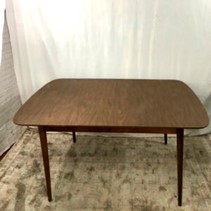 Vintage walnut dining table2